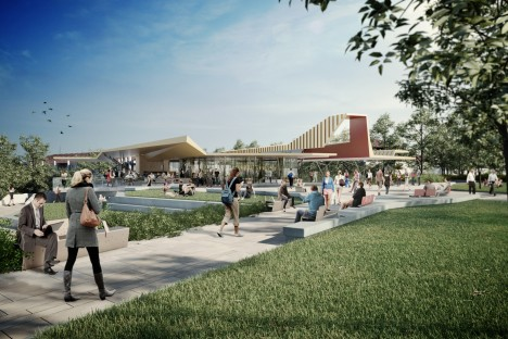 Image of Griffith Gold Coast campus master plan