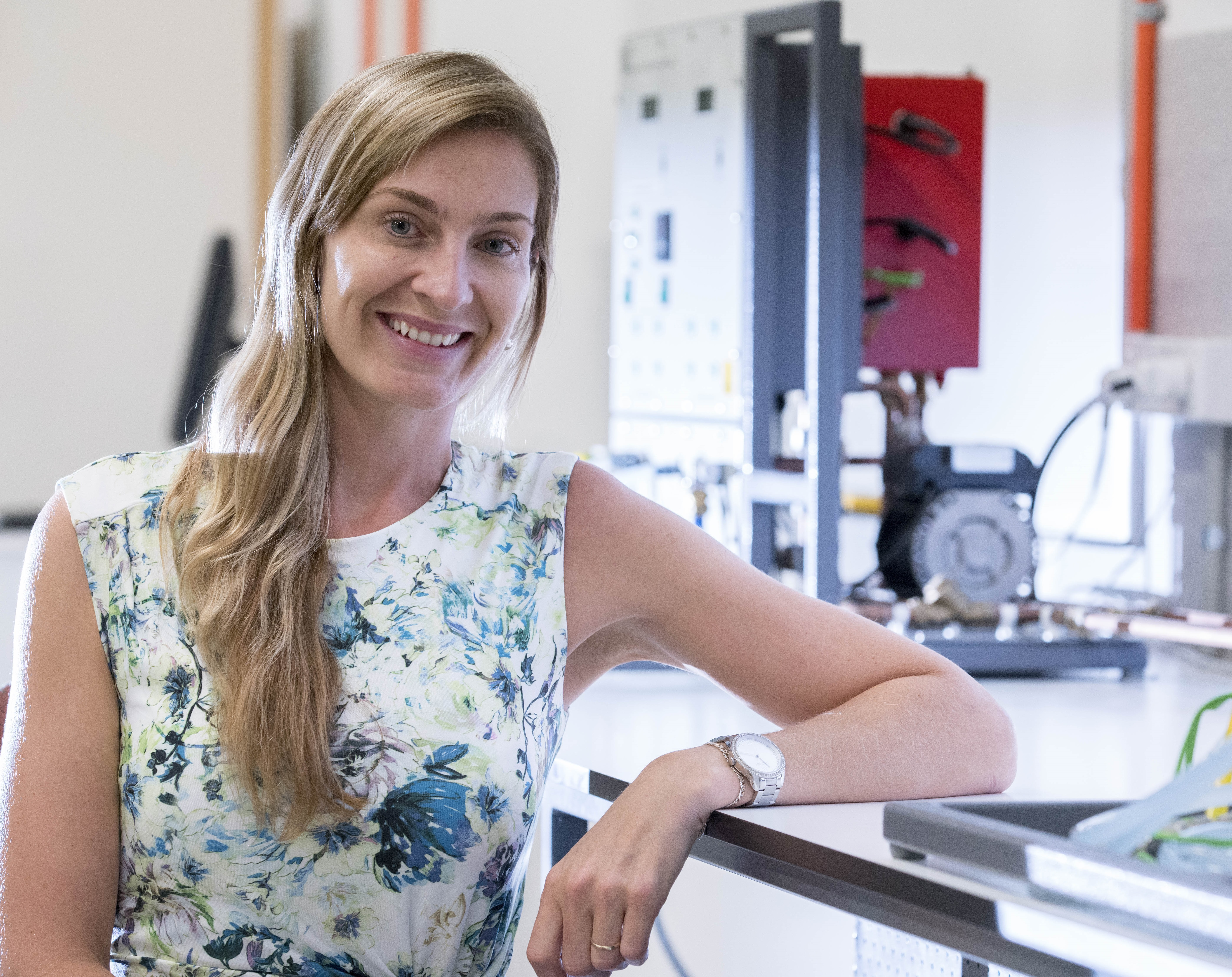 Dr Fernanda Helfer, from Griffith's School of Engineering