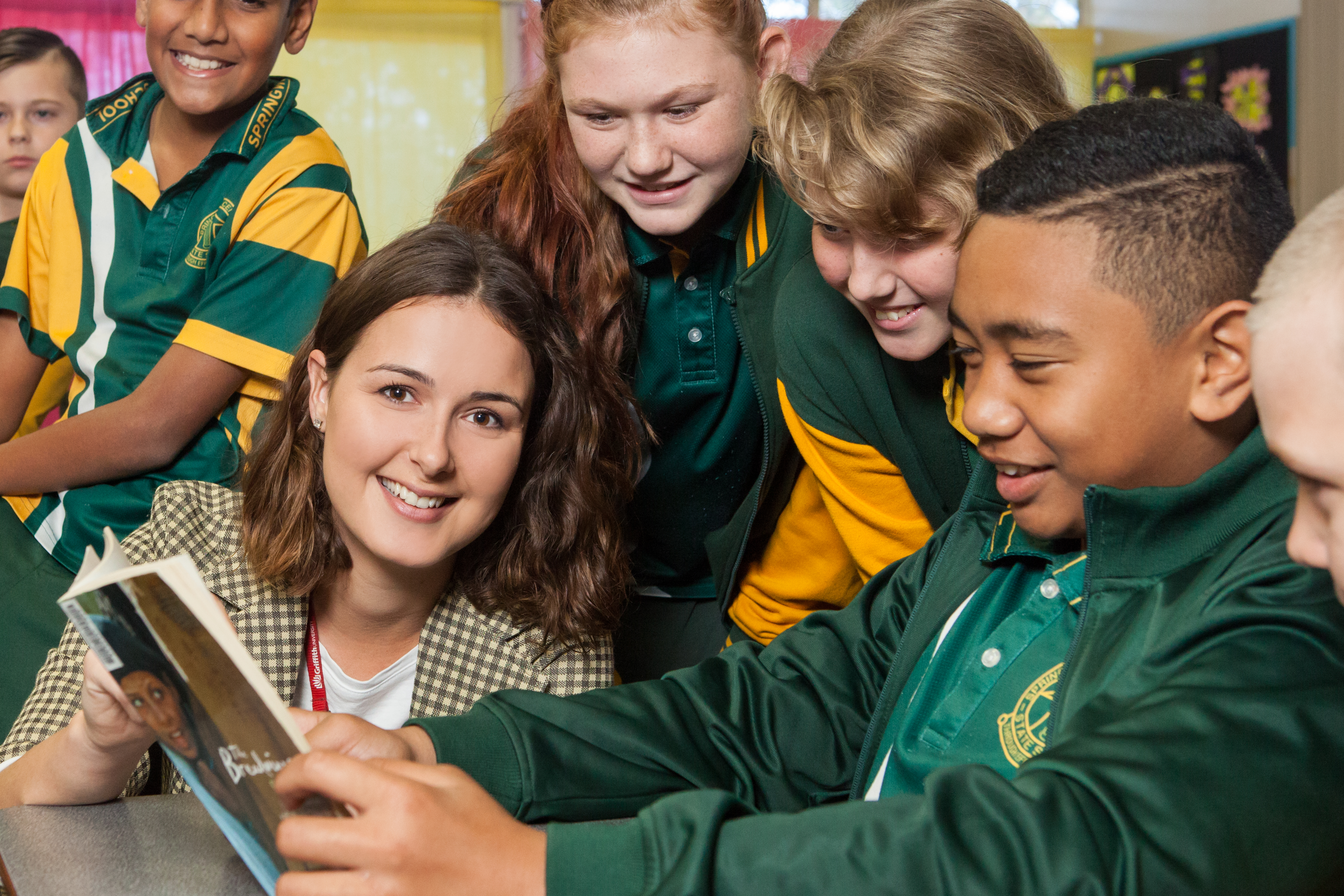 Bachelor of Education (Primary) graduate Danielle Nash is working full-time at Springwood Central State School in Logan.
