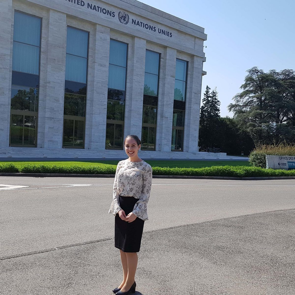 Griffith Business School Student Speaks at United Nations Human Rights Council - Griffith News