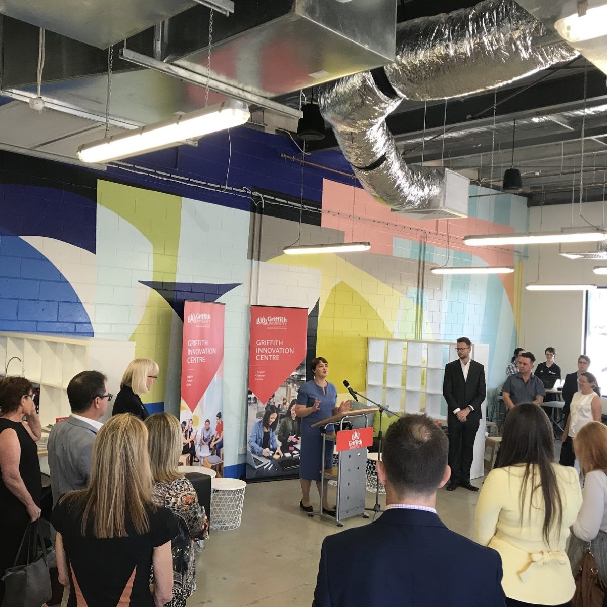 Griffith Innovation Centre heralds a new era of collaboration and entrepreneurship - Griffith News